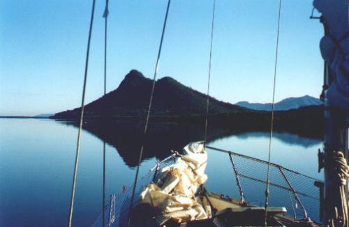 Shot of the Hinchinbrook Channel I took years ago from Dad's boat.