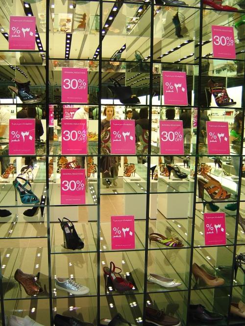 Kurt Geiger Shoe Store, Dubai Mall